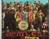 Beatles Recycled Record Album Cover Book