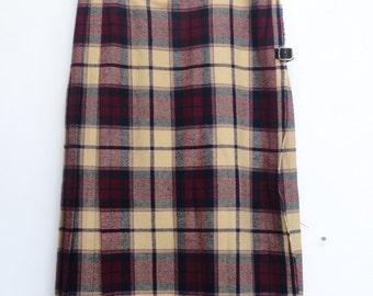Scottish Kilt Skirt / Glenisla Classics