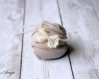 Newborn headband, newborn photo prop, Newborn prop headband/ newborn props