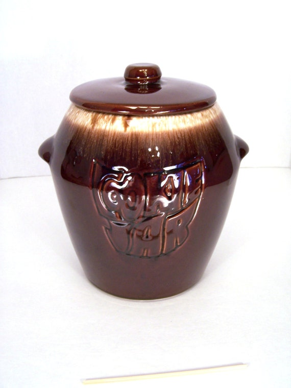 Cookie Jar Mccoy Cookie Jar Canister Cooky Container Stoneware