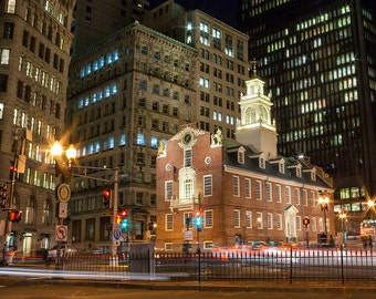 Photograph of the Old State House, Boston
