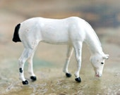 White Horse - Antique Lead Toy - Made in England