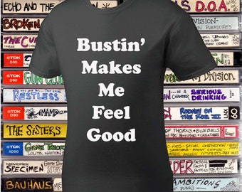 "Ghostbuster's Quote ""Bustin'"" Tee Shirt"