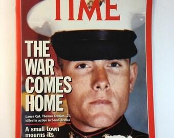 War Magazine / 1990s / Time Magazine