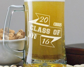Personalized Class Of 2015 Beer Mug - 293401