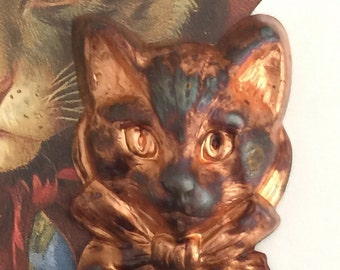 VINTAGE Jumbo Tom Kitten Cat Head ( 1 pc)