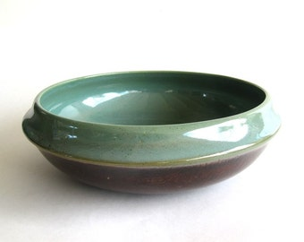 Vintage Red Wing Pottery Salad Bowl Provincial Oomph 10 Inch
