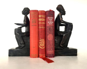 Vintage pair of book holders or bookends