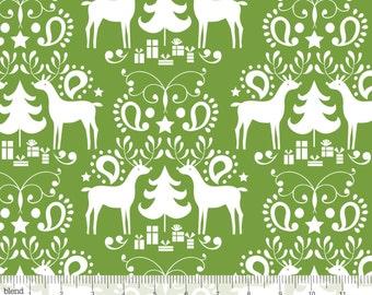 Treelicious - Rudolph Green from Blend Fabrics