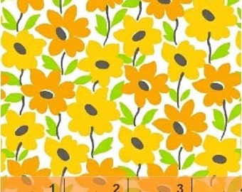 Mojito - Mango Tropical Garden by MY-KT from Windham Fabrics