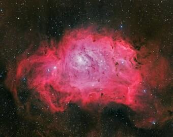 Lagoon Nebula (4x6, 8.5x11 or 13x19 print)