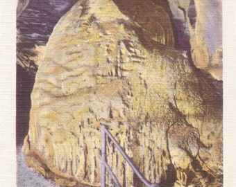 Howe Caverns, New York, Great Beehive - Linen Postcard - Unused (A5)