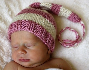 Rasberry Dream newborn hat. This listing is just for hat.