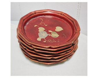 Vintage 1940s/50s Maruni Japan Lacquerware Sweet/Snack Trays