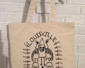 Louisville is for Haters tote bag