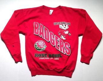 1994 Wisconsin Badgers sweatshirt, fits like a medium