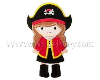 Pirate Girl 1 Applique Design