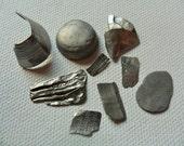 Seaham beach metal mix - Unusual English beach find pieces