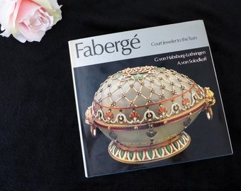 Faberge' Court Jeweler to the Tsars Art Book Hardcover with Dust Jacket