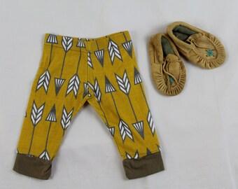 Tribal arrow leggings/Organic cotton