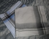 Vintage Handkerchiefs Men's Hankies Plaid