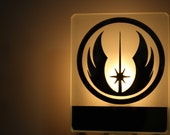 Jedi  order logo night light veilleuse star wars