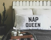 Nap Queen Pillow Case Set  (Set of 2) FREE US SHIPPING