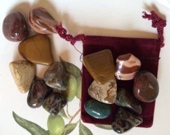 7 Jasper stones ~ set of stones ~ or choose your Jasper stone