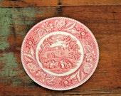 vintage plate woodland burslem