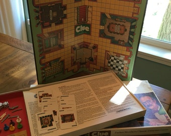 1986 CLUE Board game complete
