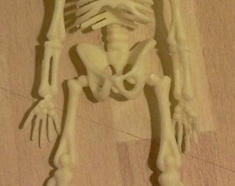 Dolls House Miniature Skeleton