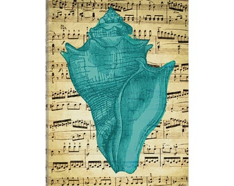 iCanvas Blue Sea I Gallery Wrapped Canvas Art Print by Natasha Westcoat