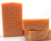 Patchouli Orange Luxury Soap  Handcrafted with Organic Shea Butter