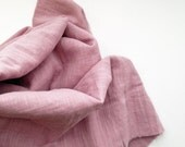cotton double gauze fabric. japanese pure cotton fabric. soft like a cloud. 102cm (40inch) wide. sold by 100cm (39inch) long. old rose pink