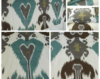 Gaston y Daniela-GDT 4746-4-Kazakhstan- 1Yard- w 62 x 36 inches L -Ethnic Chic-Luxury Fabric