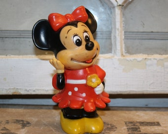 Vintage Minnie Mouse Bank - Made in Korea - Collectible