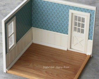 Playscale Blythe Damask Diorama Roombox