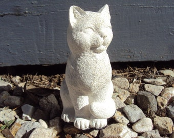 Stone Cat Paperweight, Home Decor, Listed 12-19