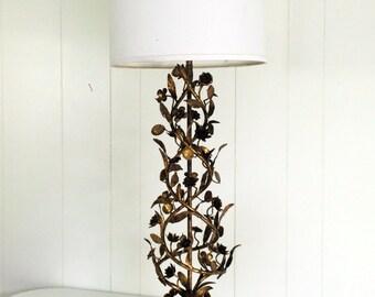 Marbro Lamp - Vintage Floral Spiral