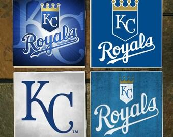 Kansas City Royals Coasters Set