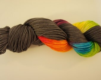 Fade to Happy, on Vesta,  DK SW Merino, 250 yds, 115g