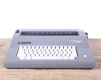 Vintage Smith Corona SL600 / Working Electric Typewriter / Vintage Typewriter / Grey Typewriter / Retro Smith Corona Typewriter / Old Decor