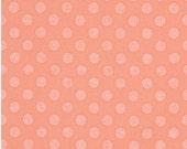 Spot On Pearl Dots on Peach From Robert Kaufman