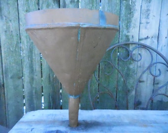 Antique Copper Funnel