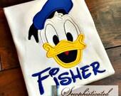 Donald Duck Shirt - You Customize