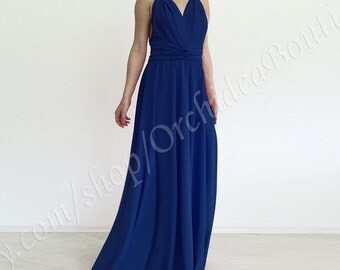 ORCHIDEA convertible maxi dress chameleon infinity transformer prom bridesmaid formal multiway backless gown