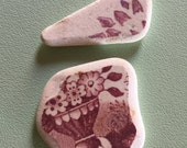 Rare 'Beach Pottery' shard