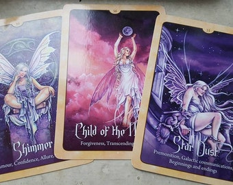 Message From The Fae - Faery Oracle Reading - 3 Card