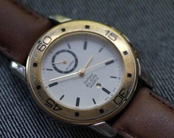 Vintage Elgin Quartz watch with Alarm