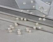 Wedding Pearl Necklace - Bridal Necklace, Floating Pearl Jewelry, Wedding Jewellry, Bridal JewelryWedding,  Multistrand Swarovski Pearls